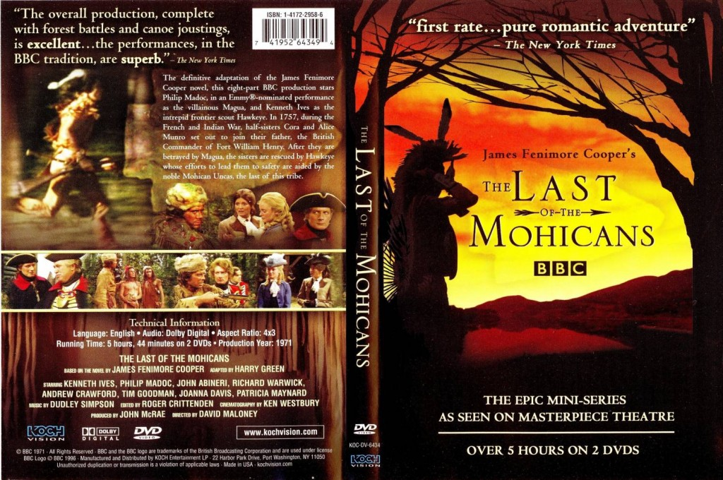 an overview of the nobel savage in the novel the last of the mohicans To me they all seem to lack the spirit of what is admittedly a rambling novel whose the last of the mohican tribe the last of the mohicans is a great savage.